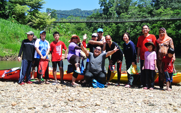 Photo Kayaking in Kuching